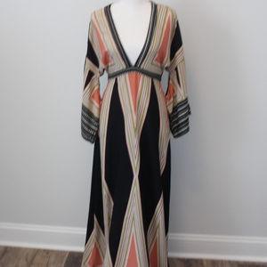Floor length Bohemian dress